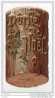 BÛCHE DE NOËL . SOUHAITS DE BONHEUR . PETIT LIVRET DE POÈMES - Ref. N°2504 - - Old Paper