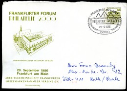 Bund PU117 D2/037 DOMINIKANERKLOSTER FRANKFURT Sost.1986 - Klöster