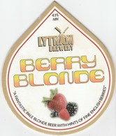 LYTHAM BREWERY (LYTHAM ENGLAND) - BERRY BLONDE - PUMP CLIP FRONT - Signs