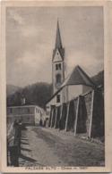 Falcade Alto (Belluno): La Chiesa. Formato Piccolo Viaggiata 1929 - Belluno