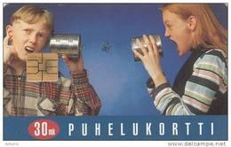 FINLAND - Children, AVANT Telecard 30 Mk, CN : 1196, Tirage 65000, 02/96, Used - Finland