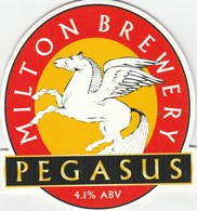 MILTON BREWERY (WATERBEACH ENGLAND) - PEGASUS - PUMP CLIP FRONT - Signs
