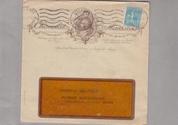 LaC 1938 - Enveloppe Illustrée CHOCOLAT STANISLAS - Fabrique De Chocolats Fins De Nancy - Cachet Belfort - 1877-1920: Semi Modern Period