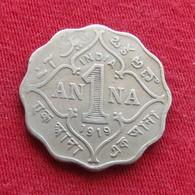 British India 1 Anna 1919 KM# 513  Inde Indie Indien - Inde