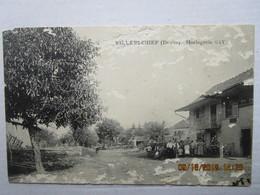 CP 25 VILLERS CHIEF Vers Vercel Villedieule Camp - Horlogerie Gay - état - Other Municipalities