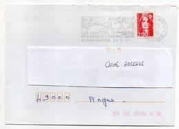 ST JULIEN CHAPTEUIL--43-Haute Loire-- 1992 --flamme Pays Natal De Jules Romain (écrivain) - Type Marianne Bicentenaire - Marcophilie (Lettres)