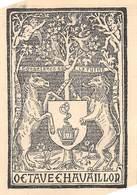 P-jmt1-18-5391 :  EX-LIBRIS. OCTAVE CHAVILLON - Ex-libris