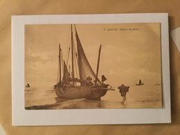 KOKSIJDE 1923 COXYDE RETOUR DE PECHE   VISSERSBOOT / BARQUE DE PECHE  MARCOVICI !!! - Koksijde