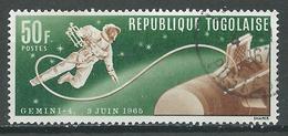 Togo YT N°476 Gemini 4 Et White Oblitéré ° - Togo (1960-...)