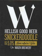 WAEN BREWERY (LLANIDLOES, WALES) - SNICKERDOODLE - PUMP CLIP FRONT - Signs