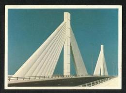 Bahrain Picture Postcard Bahrain Manama Muharraq Bridge  View Card - Baharain