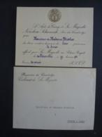 PHNOMPENH, AUTOGTAPHE  MENU   DINER OFFERT Par Sa MAJESTE  NORODOM SIHANOUK ROI DU CAMBODGE 1943 Clas 4 - Menus
