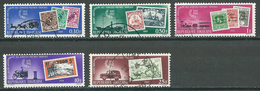 Togo YT N°371/376 (sauf 376) Services Postaux Oblitéré ° - Togo (1960-...)