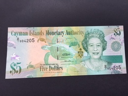 CAYMAN P39 5 DOLLARS 2010 UNC - Isole Caiman