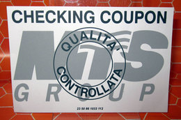CHECKING COUPON MTS GROUP - Other
