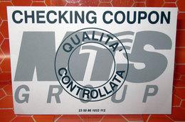 CHECKING COUPON MTS GROUP - Pubblicitari