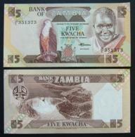 Zambia 5 Kwacha 1980-88 UNC FdS - Zambia