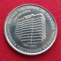 PANAMA 50 Cent 1/2 Balboa 2009 Unc National Bank 1/2 Balboa - Panama
