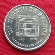 PANAMA 25 Cent 2008 Unc Hospital - Panama