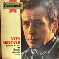 LP Argentino De Yves Montand Año 1980 - Vinyl Records