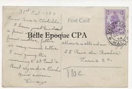 Pays-Bas - Vlaardingen / HOLLANDIA - Anglo-Dutch Milk & Food Co. +++++ Valletta, MALTA To Paris, 1924 - Vlaardingen