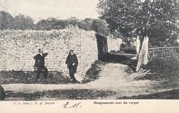 Waterloo-Hougoumont-mur Du Verger-animée - Waterloo