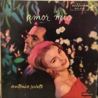 LP Argentino De Antonio Prieto Año 1961 - Vinyl Records