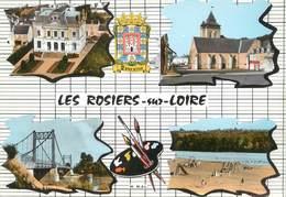 """/ CPSM FRANCE 49 """"Les Rosiers Sur Loire"""" - France"""