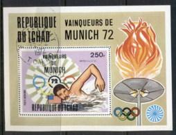 Chad 1972 Summer Olympics Munich Winners MS CTO - Chad (1960-...)
