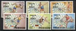 Chad 1972 Summer Olympics, Munich Winners CTO - Chad (1960-...)