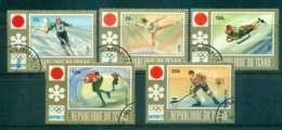Chad 1972 Winter Olympics Sapporo CTO Lot46324 - Chad (1960-...)