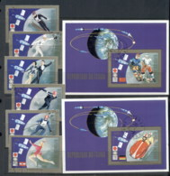 Chad 1972 Winter Olympics, Space + 2xMS CTO - Chad (1960-...)
