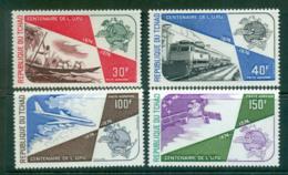 Chad 1974 UPU Centenary MUH Lot56275 - Chad (1960-...)
