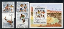 Chad 1976 Summer Olympics Montreal + MS CTO - Chad (1960-...)