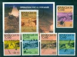 Chad 1976 Viking Mars Mission + MS CTO Lot46328 - Chad (1960-...)