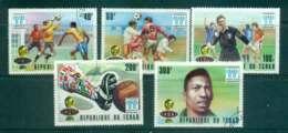 Chad 1977 World Cup Soccer CTO Lot46331 - Chad (1960-...)