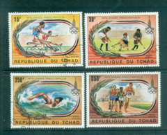 Chad 1979 Pre- Olympic Year CTO Lot46355 - Chad (1960-...)