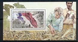 Chad 1980 Europafrica, Infared Crop Photo MS MUH - Chad (1960-...)