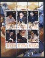 Chad 2010 Chess Players MS CTO - Chad (1960-...)