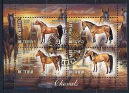 Chad 2013 Horses MS CTO - Chad (1960-...)