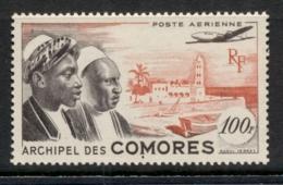 Comoro Is 1950 Comoro Men & Moroni House 10f MLH - Comoros