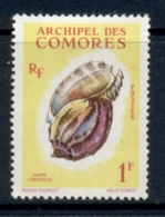 Comoro Is 1962 Shells 1f MLH - Comoros