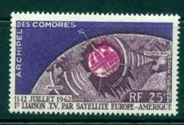 Comoro Is 1962 Telstar MLH Lot38752 - Comoros