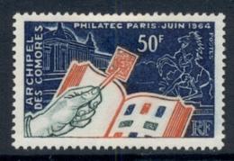 Comoro Is 1964 Philatelic Issue MLH - Comoros