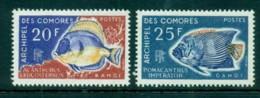 Comoro Is 1968 Fish (2/4, No Airs) MLH Lot73308 - Comoros
