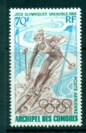 Comoro Is 1968 Grenoble Winter Olympics MLH Lot73329 - Comoros