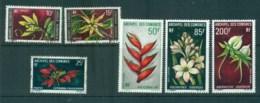 Comoro Is 1969-70 Flowers MLH/FU Lot73311 - Comoros