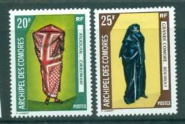 Comoro Is 1970 Costumes MLH Lot73314 - Comoros