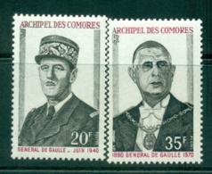 Comoro Is 1971 Charles De Gaulle MUH Lot38751 - Comoros