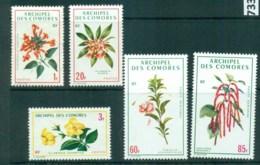 Comoro Is 1971 Flowers MLH Lot73318 - Comoros